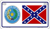 Confederate Texas Novelty Wholesale Motorcycle License Plate MP-10885