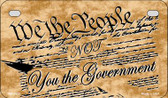 We The People Novelty Wholesale Motorcycle License Plate MP-2335