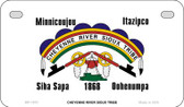 Cheyenne River Sioux Tribe Novelty Wholesale Motorcycle License Plate MP-1870