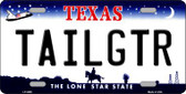 Tailgtr Texas Novelty Wholesale Metal License Plate