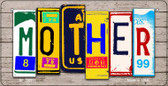 Mother Plate Art Wholesale Novelty Bicycle Plate BP-7907