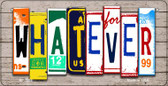 Whatever Plate Art Wholesale Novelty Bicycle Plate BP-7938