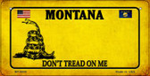 Montana Do Not Tread Wholesale Novelty Bicycle Plate BP-8858