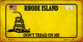 Rhode Island Do Not Tread Wholesale Novelty Bicycle Plate BP-8871