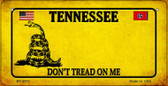 Tennessee Do Not Tread Wholesale Novelty Bicycle Plate BP-8874