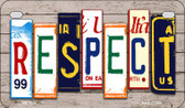 Respect Plate Art Wholesale Novelty Motorcycle Plate MP-7905