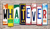 Whatever Plate Art Wholesale Novelty Motorcycle Plate MP-7938