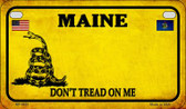 Maine Do Not Tread Wholesale Novelty Motorcycle Plate MP-8851