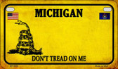 Michigan Do Not Tread Wholesale Novelty Motorcycle Plate MP-8854