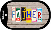 Father Plate Art Wholesale Dog Tag Necklace DT-7908
