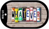 Whatever Plate Art Wholesale Dog Tag Necklace DT-7938