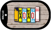 XOXO Plate Art Wholesale Dog Tag Necklace DT-7900
