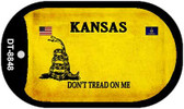 Kansas Do Not Tread Wholesale Dog Tag Necklace DT-8848