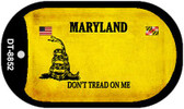 Maryland Do Not Tread Wholesale Dog Tag Necklace DT-8852