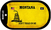 Montana Do Not Tread Wholesale Dog Tag Necklace DT-8858