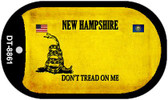 New Hampshire Do Not Tread Wholesale Dog Tag Necklace DT-8861