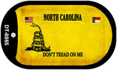 North Carolina Do Not Tread Wholesale Dog Tag Necklace DT-8865