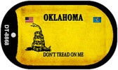 Oklahoma Do Not Tread Wholesale Dog Tag Necklace DT-8868