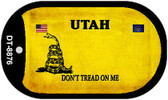 Utah Do Not Tread Wholesale Dog Tag Necklace DT-8876