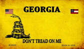 Georgia Do Not Tread Wholesale Aluminum Magnet M-8842