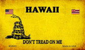 Hawaii Do Not Tread Wholesale Aluminum Magnet M-8843