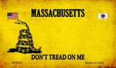 Massachusetts Do Not Tread Wholesale Aluminum Magnet M-8853
