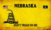 Nebraska Do Not Tread Wholesale Aluminum Magnet M-8859