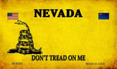 Nevada Do Not Tread Wholesale Aluminum Magnet M-8860