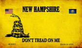 New Hampshire Do Not Tread Wholesale Aluminum Magnet M-8861