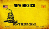 New Mexico Do Not Tread Wholesale Aluminum Magnet M-8863