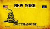 New York Do Not Tread Wholesale Aluminum Magnet M-8864