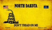 North Dakota Do Not Tread Wholesale Aluminum Magnet M-8866