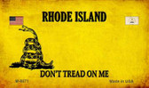 Rhode Island Do Not Tread Wholesale Aluminum Magnet M-8871