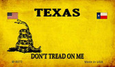 Texas Do Not Tread Wholesale Aluminum Magnet M-8875