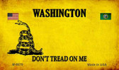 Washington Do Not Tread Wholesale Aluminum Magnet M-8879
