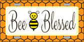 Bee Blessed Simple Wholesale Novelty License Plate LP-11723