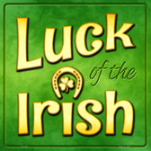 Luck of the Irish Wholesale Novelty Square Sign SQ-330