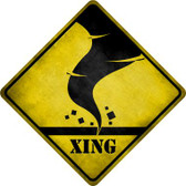 Tornado Xing Novelty Wholesale Crossing Sign CX-314