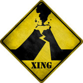 Volcano Xing Wholesale Novelty Crossing Sign CX-317