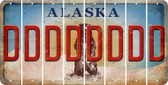 Alaska D Cut License Plate Strips (Set of 8) LPS-AK1-004