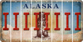 Alaska I Cut License Plate Strips (Set of 8) LPS-AK1-009