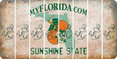 Florida ANCHOR Cut License Plate Strips (Set of 8) LPS-FL1-093