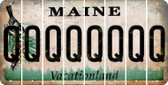 Maine Q Cut License Plate Strips (Set of 8) LPS-ME1-017