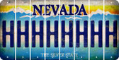Nevada H Cut License Plate Strips (Set of 8) LPS-NV1-008