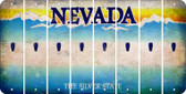 Nevada APOSTROPHE Cut License Plate Strips (Set of 8) LPS-NV1-038