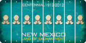 New Mexico BABY BOY Cut License Plate Strips (Set of 8) LPS-NM1-066