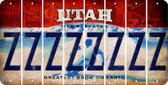 Utah Z Cut License Plate Strips (Set of 8) LPS-UT1-026