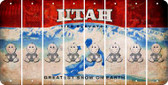 Utah BABY BOY Cut License Plate Strips (Set of 8) LPS-UT1-066