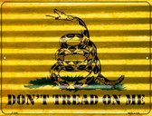 Don't Tread On Me Wholesale Novelty Parking Sign P-2305