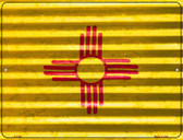 New Mexico Flag Wholesale Novelty Parking Sign P-2345